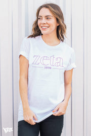 Zeta Tau Alpha Boutique Tee