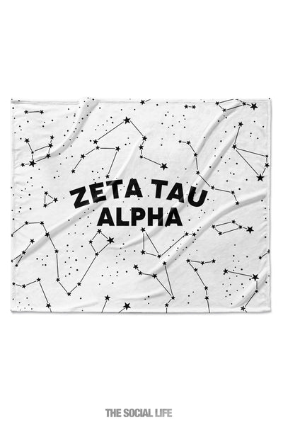 Zeta Tau Alpha Constellation Blanket