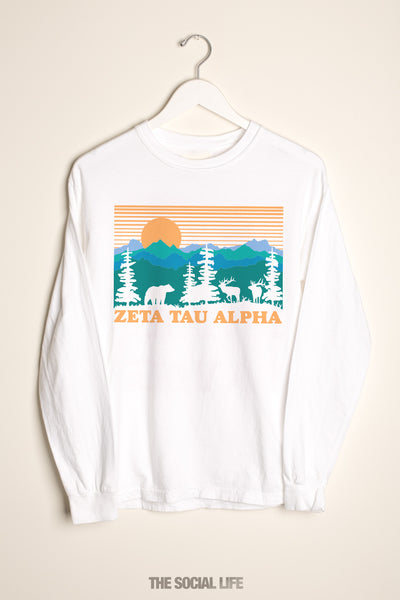 Zeta Tau Alpha Deer Valley Long Sleeve