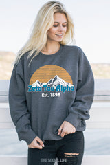 Zeta Tau Alpha Everest Crewneck