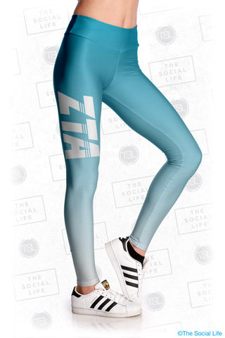 Zeta Tau Alpha Fade Leggings