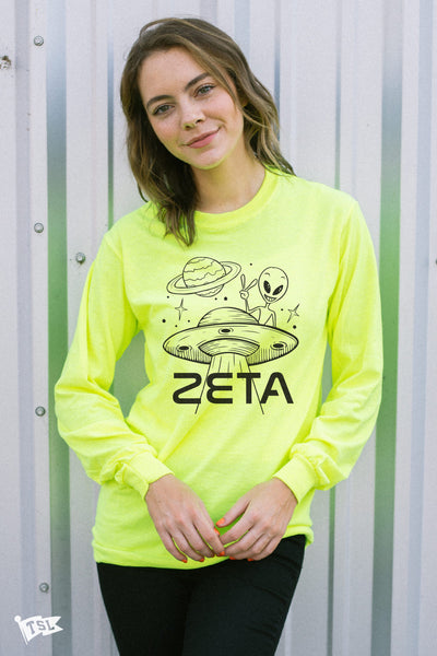Zeta Tau Alpha Martian Long Sleeve
