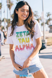 Zeta Tau Alpha Melting Tee