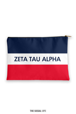 Zeta Tau Alpha Merci Cosmetic Bag