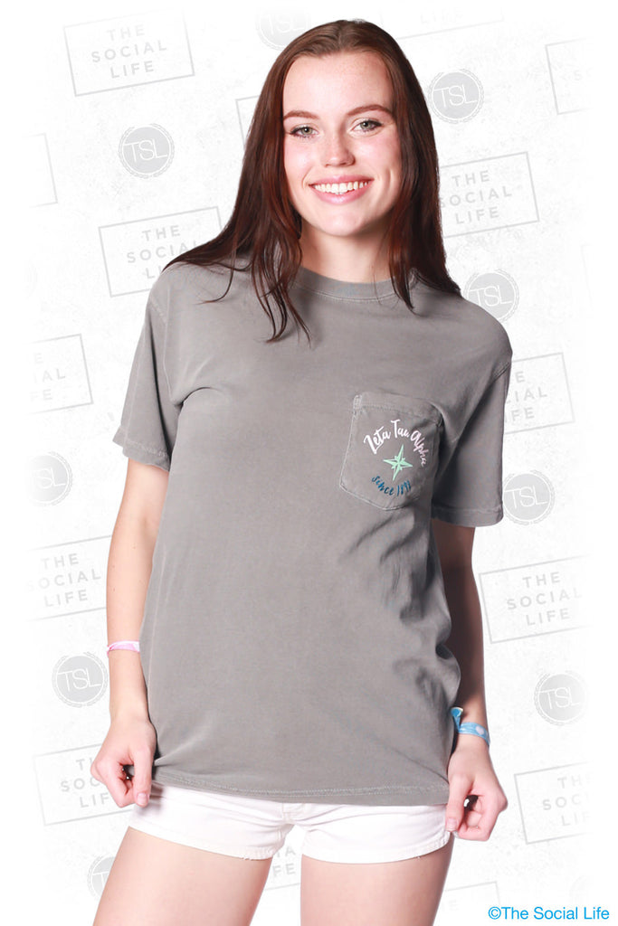 Zeta Tau Alpha Adventure Pocket Tee