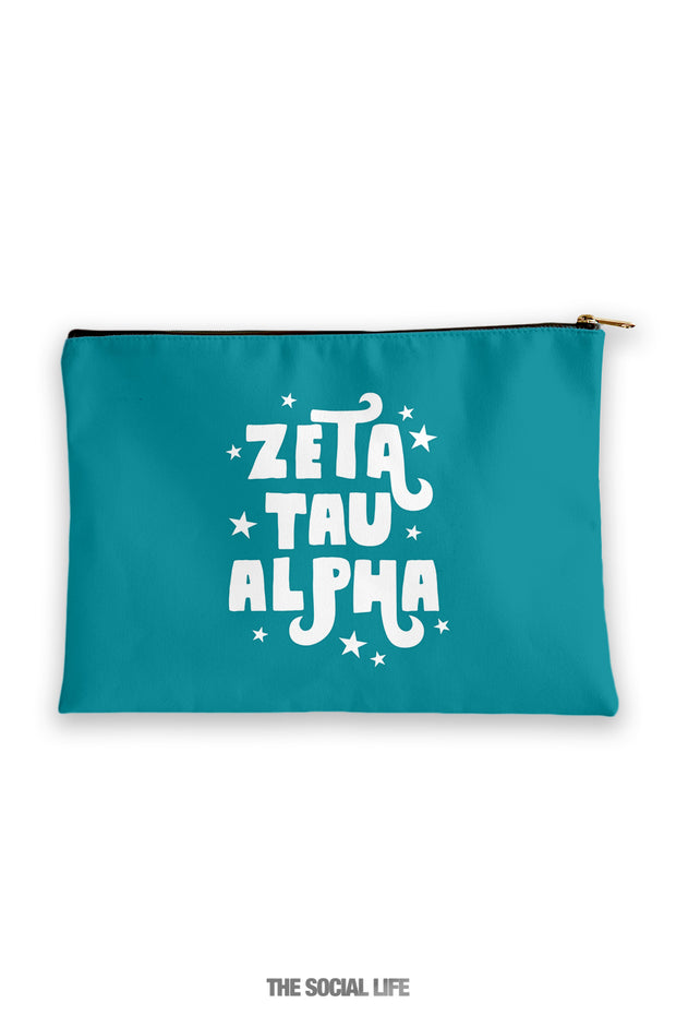Zeta Tau Alpha Pixie Cosmetic Bag