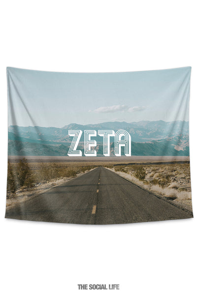 Zeta Tau Alpha Roadtrip Tapestry