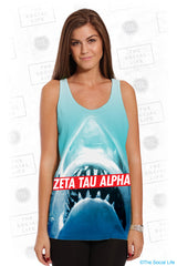 Zeta Tau Alpha Sharky Top