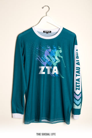 Zeta Tau Alpha Ski Long Sleeve