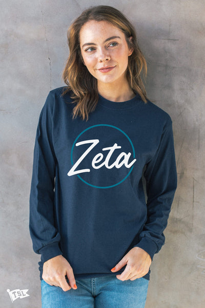 Zeta Tau Alpha Stamp Long Sleeve