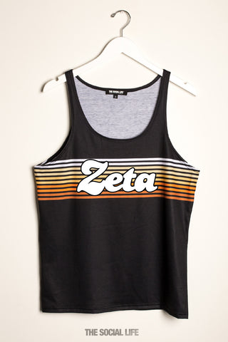 Zeta Tau Alpha That 70s Tank