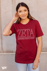Zeta Tau Alpha Webster Tee