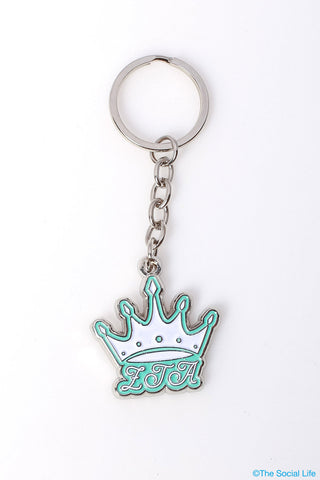 Zeta Tau Alpha Crown Keychain