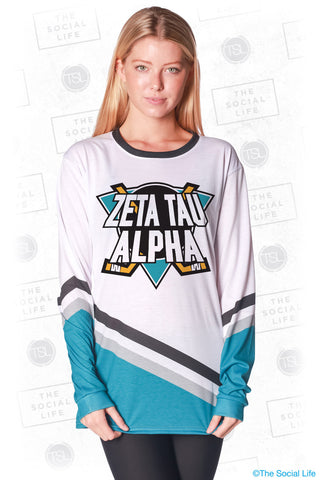 Zeta Tau Alpha Mighty Hockey Long Sleeve