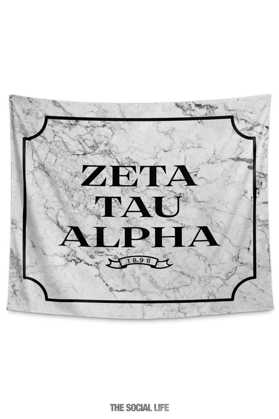 online retailer a1f10 a4972 Zeta Tau Alpha Milano Marble Tapestry