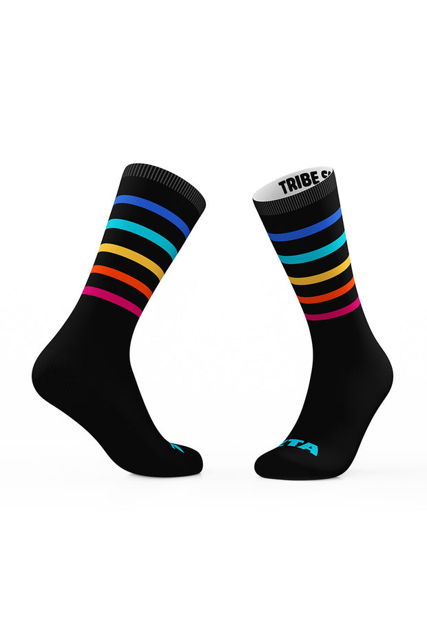 Zeta Tau Alpha Spectrum Crew Sock