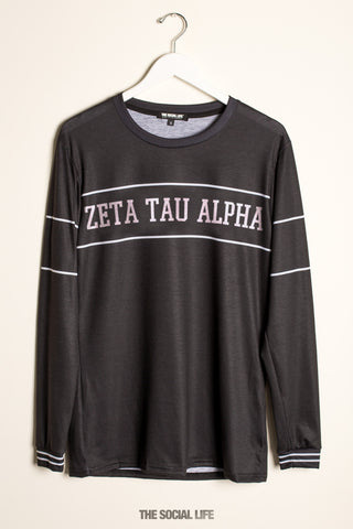 Zeta Tau Alpha University Long Sleeve