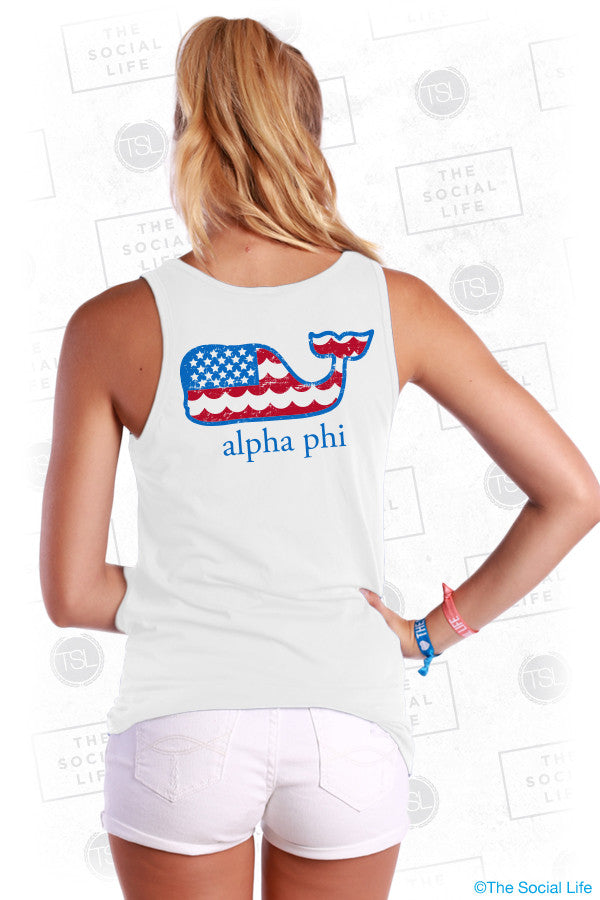 Alpha Phi US Whale Top