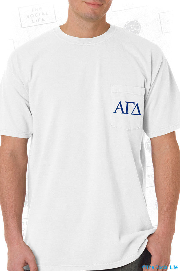 Alpha Gamm Kinda Man Tee
