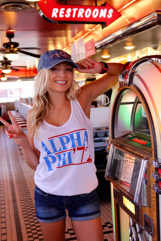 Alpha Phi Election Tank