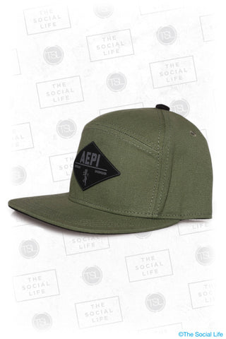 AEPI - Premium Military Canvas Hat