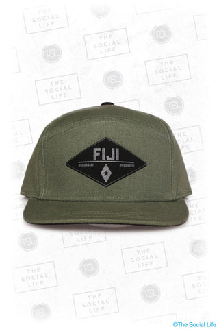 Fiji - Premium Military Canvas Hat