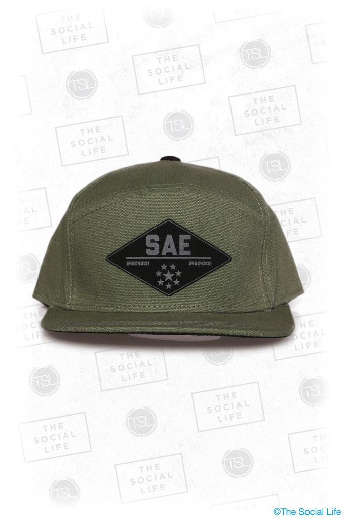 SAE - Premium Military Canvas Hat