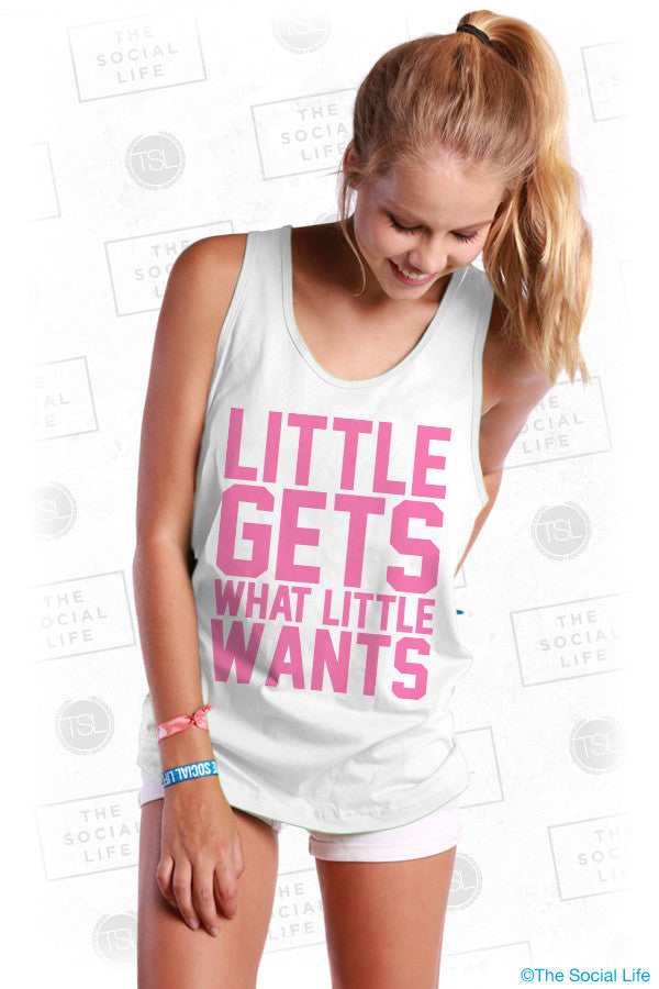 Little Get's What Little Wants Tank