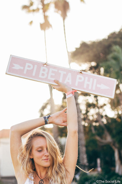 Pi Beta Phi Vintage Sign