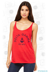Slouchy Tank - Red