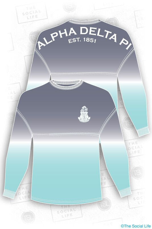 ADPi Ombre Spirit Jersey