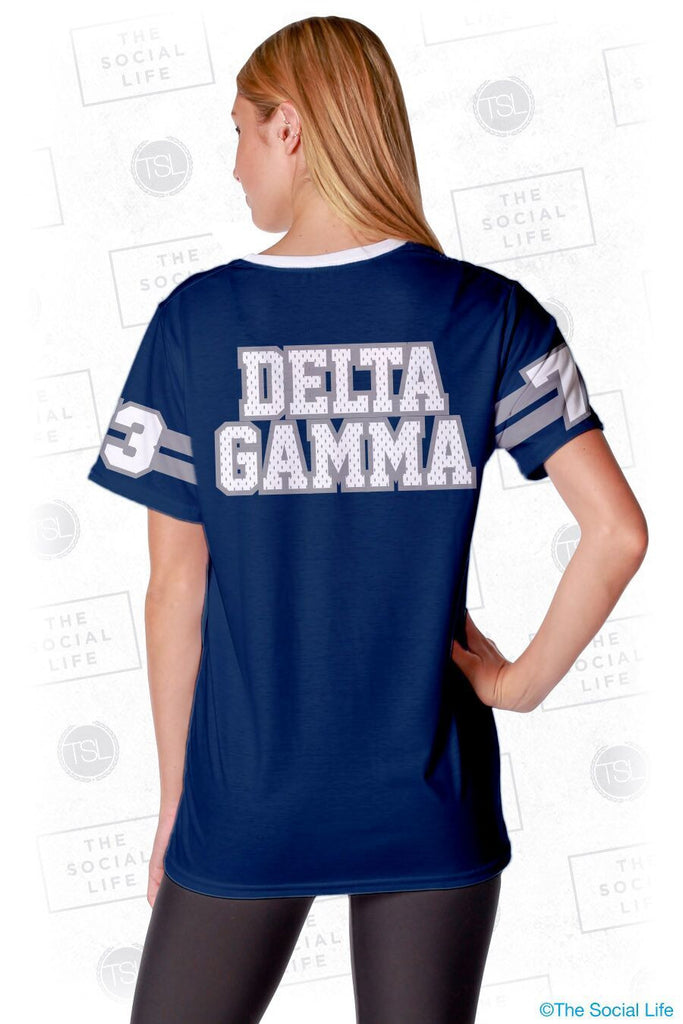 Delta Gamma Established Jersey Tee