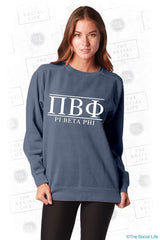 Pi Phi Comfort Color Sweatshirt
