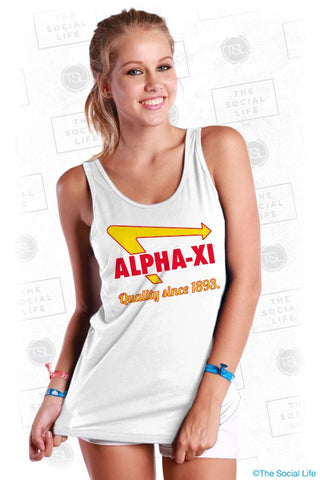 Alpha Xi Delta Golden Arrow Tank