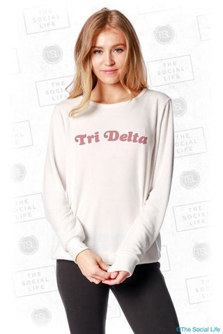 Tri Delta Slouchy Pullover