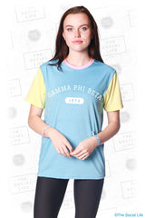Gamma Phi Beta Color Block Tee