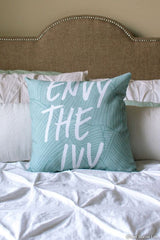Envy The Ivy Pillow
