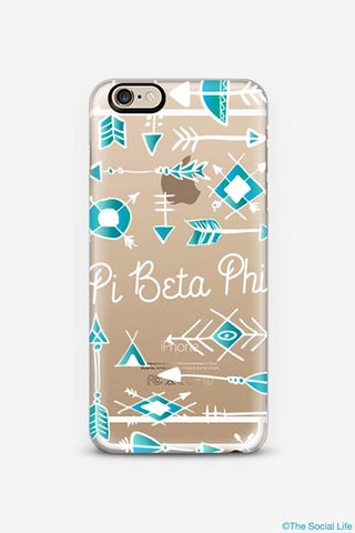 Pi Beta Phi Custom Snap Case