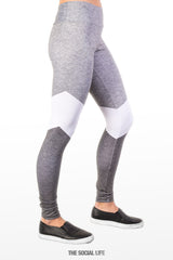 Alpha Xi Delta Graphite Leggings