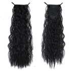 Black Curly InstabiliTail -  Ponytail Hair Extension