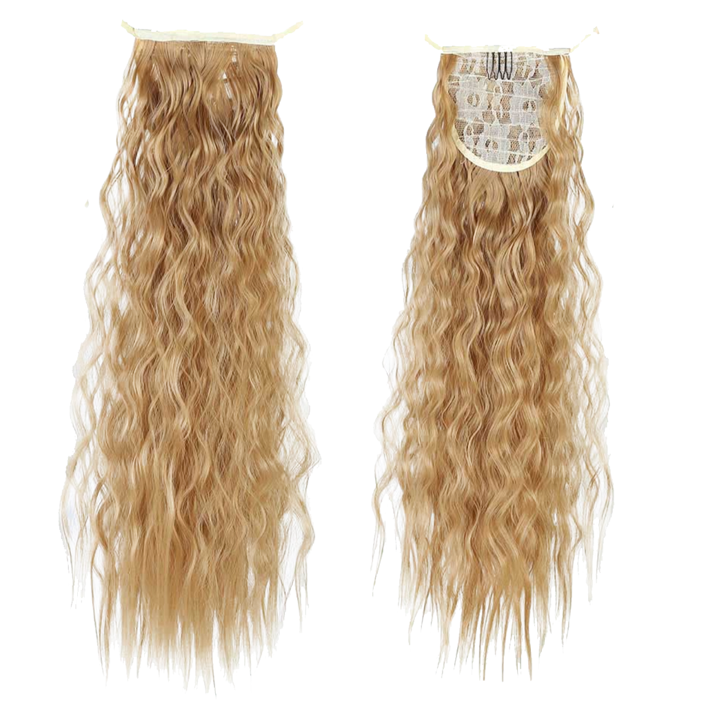 Blond Curly InstabiliTail -  Ponytail Hair Extension