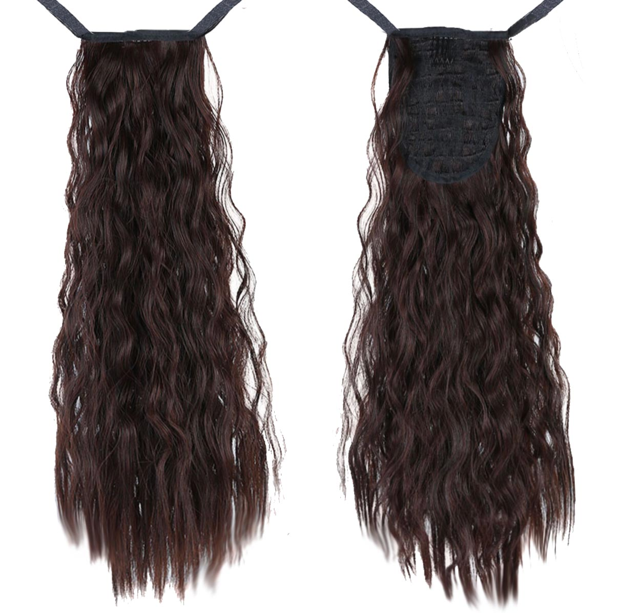 Brown Curly InstabiliTail -  Ponytail Hair Extension