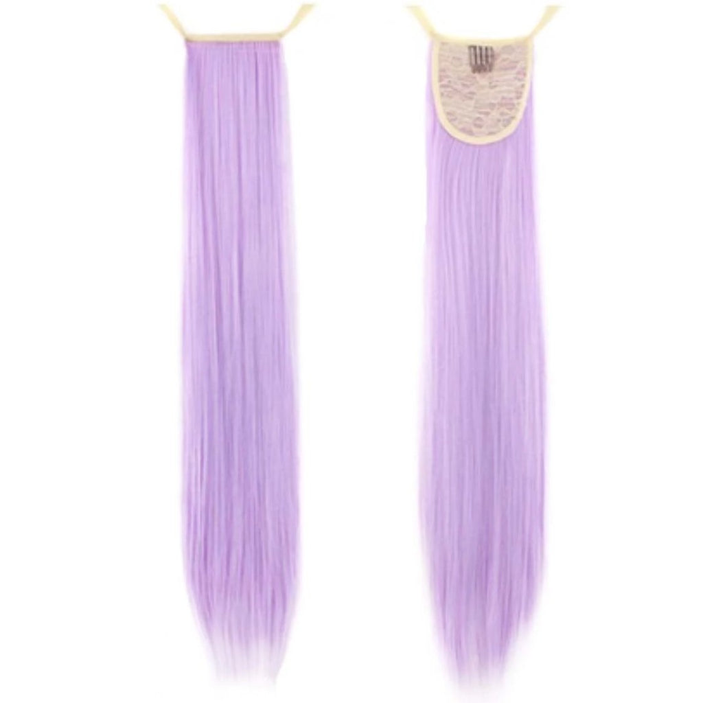 Lavender Pink Pony InstabiliTail -  Ponytail Hair Extension