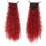 Red Curly InstabiliTail -  Ponytail Hair Extension