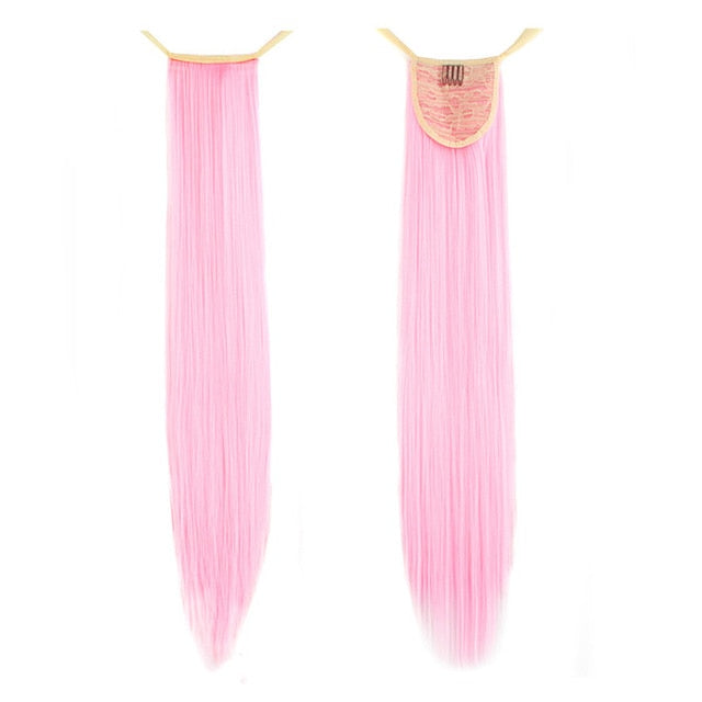 Pink Pony InstabiliTail -  Ponytail Hair Extension