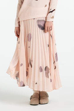BOND SKIRT | BLUSH MINERAL - NYNE - NZ Made Women's Clothing