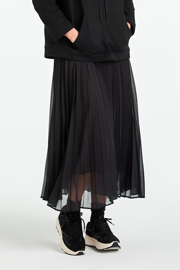 BOND SKIRT | BLACK - NYNE - NZ Made Women's Clothing