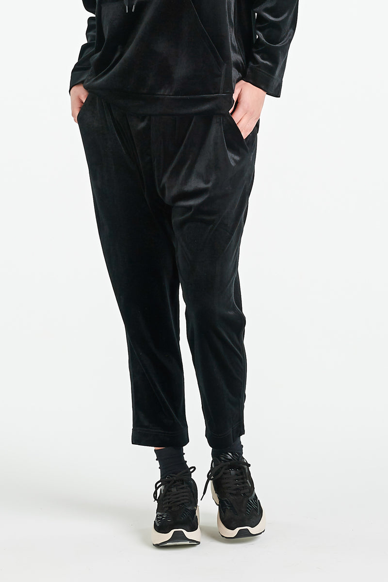LENNOX PANT 2.0 | BLACK VELVET - NYNE - NZ Made Women's Clothing