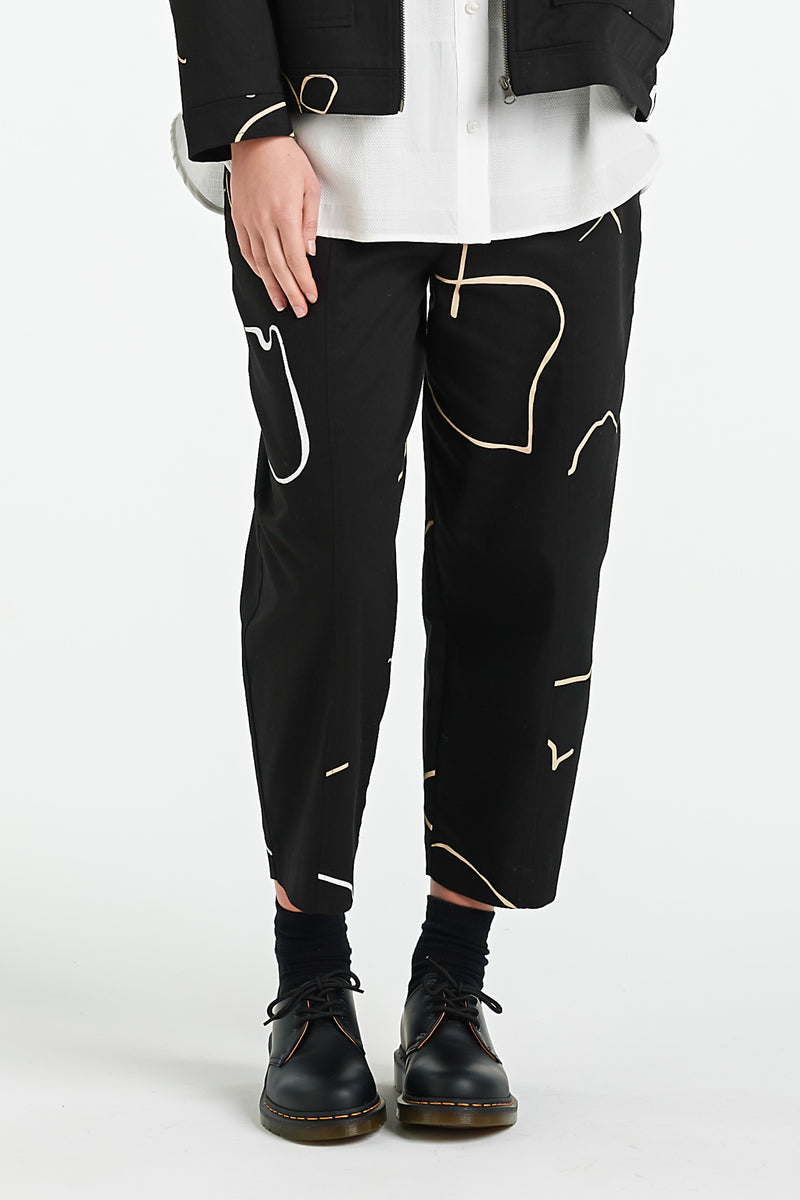 VENETIAN PANT | BLACK OBJECT - NYNE - NZ Made Women's Clothing