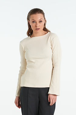 MOSAIC TOP | IVORY - NYNE - NZ Made Women's Clothing